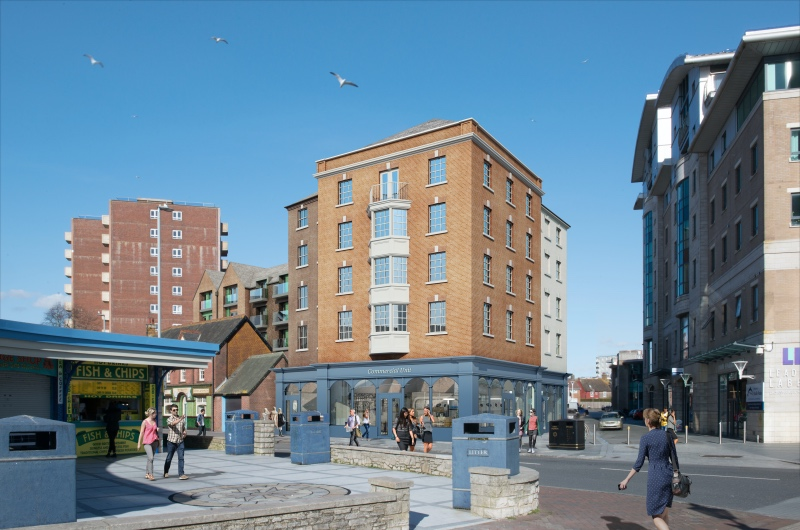 Redevelopment of the former Poole Pottery