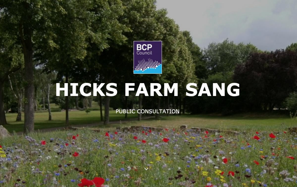 Hicks Farm Sang